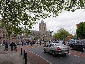 Dublinの大聖堂