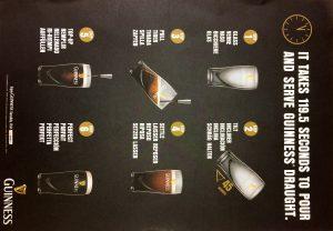 ギネスビールの注ぎ方の認定証