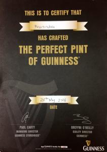 GuinnessDraughtCertificate